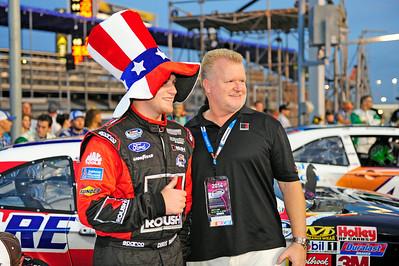 NASCAR:  Jul 04 Subway Firecracker 250